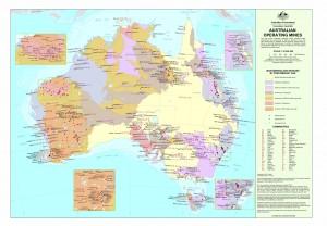 Aust mines map small