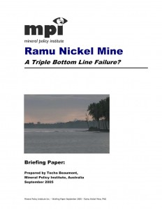Ramu Nickel