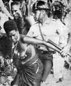 Rorovana women resisit the mine in 1969