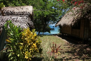 Basamuk Bay Village - photo by Charles Roche